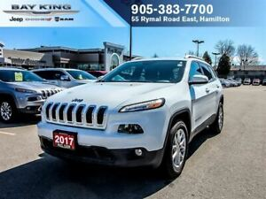 2017 Jeep Cherokee 4X4, BLUETOOTH, REMOTE START, HEATED SEATS, T