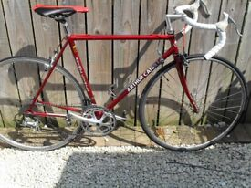 Arthur Caygilll of Richmond retro fast road bicycle.