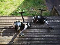 Pair of old reels