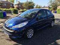 Peugeot 207 with 21,000 miles Genuine- not Audi BMW Citroen Ford Renault nissan vw Volvo Honda