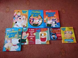 8 Family Guy Books
