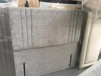 Ex display large floor standing headboards 4ft6 5ft 6ft from only £89