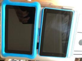 2x Amazon Fire for Kids tablets