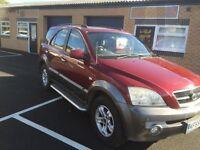 2005 Kia Sorento automatic 2.5 crdi 4x4 12 months mot/3 months warranty