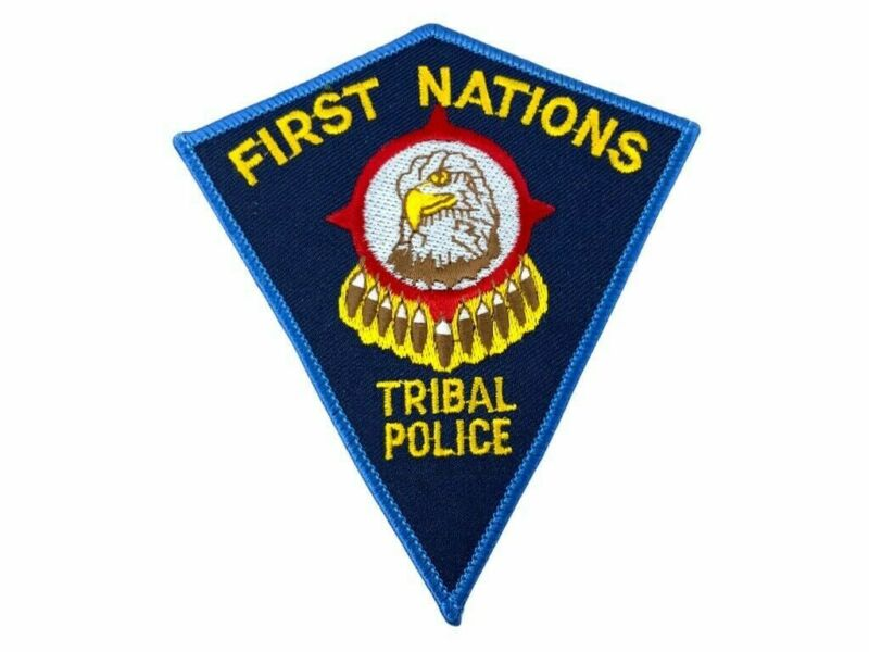 Canadian First Nations Tribal Police Service Patch