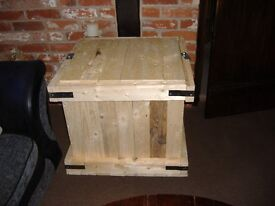 Large Wooden Storage Box/Trunk/Toy Box