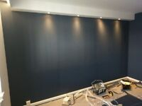 Painting, decorating and plastering