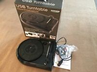 Zennox D6027 USB Turntable Record Player (Convert vinyl to MP3)