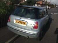 2001 51 Mini Cooper 1.6 spares or repairs **MUST GO TODAY NO OFFERS**