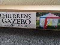 Children's garden tent