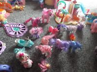 My little pony sets.in used condition