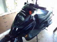 Direct Bikes 125cc Sports Scooter – Model: ZN125T-26 - only 1600 miles from new - swap 4x4