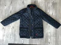 Kids Navy Blue Jules padded coat age 6 years