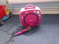 Karaoke disco machine