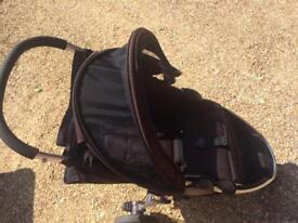Britax B-Agile Stroller with Britax snack tray