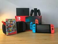 Nintendo Switch Super Mario Odyssey Bundle