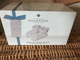 Champneys Electronic Massaging Foot Slippers