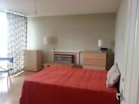 Lovely big double bedroom with private balcony