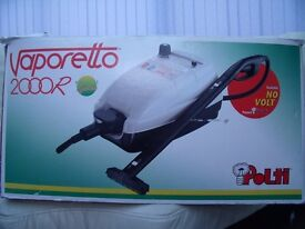 VAPORETTO 2000R STEAM CLEANER FOR SALE