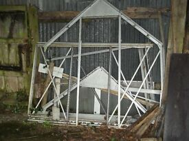 Aluminium Greenhouse 6ft x 6ft (Dismantled)
