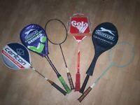 6x badmington rackets