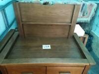 New teak drawer baby changer originally £120