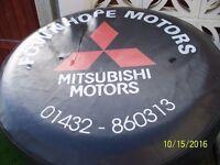 Mitsubishi shogun / pajero / L200 4X4 spare wheel cover .