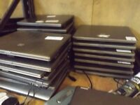 Joblot of hp laptops