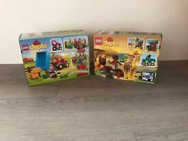 Duplo lego sets brand new