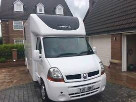 Renault Master Horsebox. OWEN BOX 3.5t immaculate condition. Lancashire.