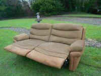 Large Modern Full Recliner Sofa
