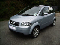 Lovely Audi a2. One lady owner. Low mileage