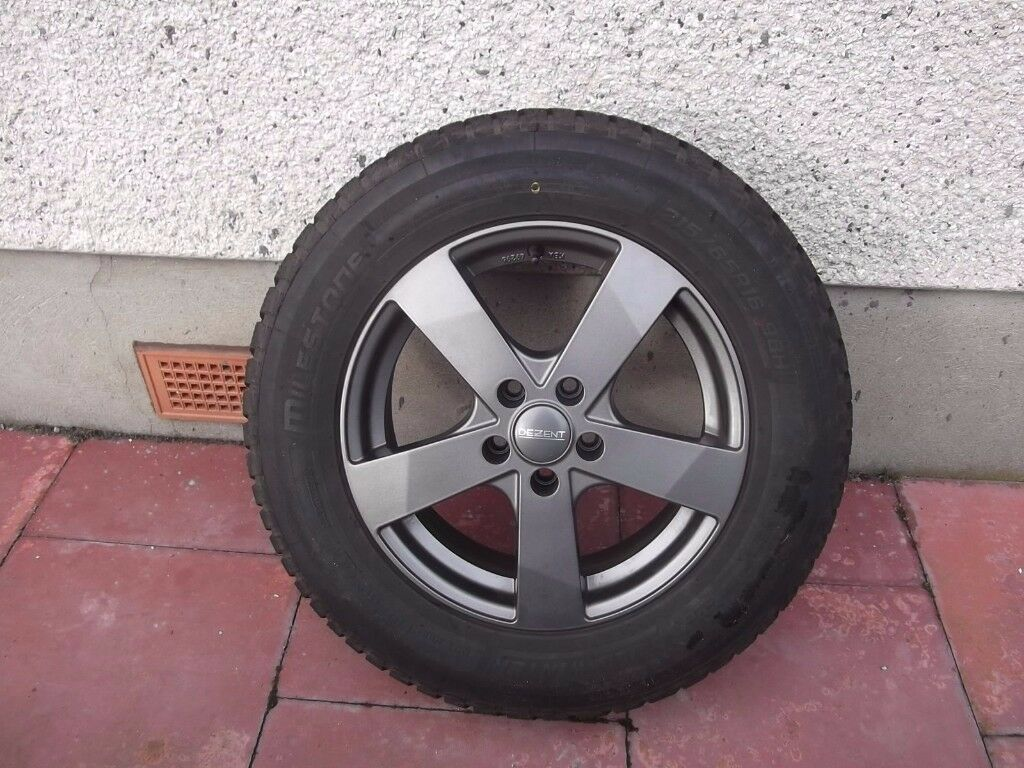 4 x wheel rims and winter tires to fit Vauxhall MOKKA.