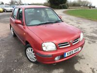 NISSAN MICRA 14,996 miles!!! RARE CAR!! NEW M.O.T 11-MARCH-2019!,