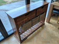 Hall console table. Solid wood in perfect condition