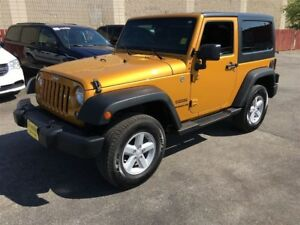 2014 Jeep Wrangler Sport, Auto, A/C,  Hard Top and Soft Top, 4x4
