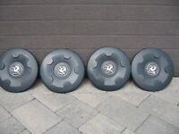 Vivaro hubcaps set of four