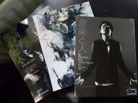 3 japanese Ongaku to Hito magazines Dir en grey and KYO