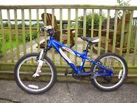 """Boys bike Carrera Blast 20"""" wheels, good condition, usual wear and tear for a boys bike"""