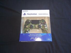 SOLD - Sony PS4 Official DualShock 4 Controller V2 - Camo Green - No offers - £30