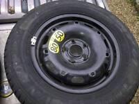 "14"" spare steel wheel"