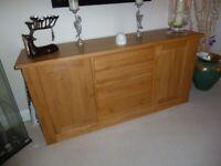 Large Oak Sideboard