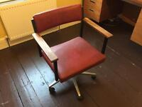 Office Swivel Chair Vintage Retro