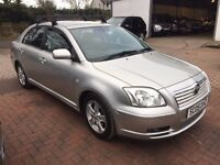 NOW REDUCED! 2005 Toyota Avensis 2.2 DIESEL 5dr hatch mot until June 2017 new battery, just serviced