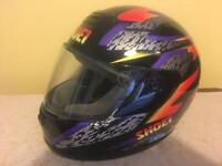 Shoei men's motorbike helmet (59cm)