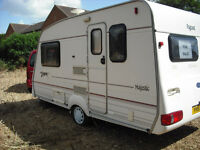 1999 Bailey Pageant Majestic 2 Berth