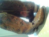 Texan Cowboy Boots size 6 UK