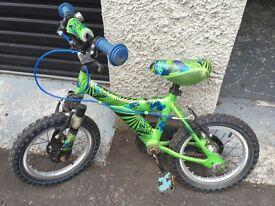 Boys Atom Raleigh Bike