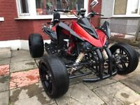 Quad road legal 250cc