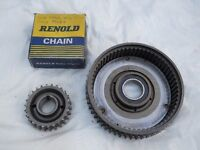 Norton Commando Motorcycle Parts....Primary Drive Set